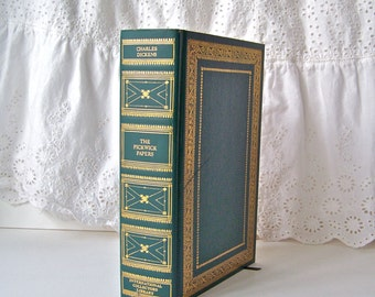 Vintage Charles Dickens Pickwick Papers Hardcover Book Dickens Novel International Collectors Library 1944
