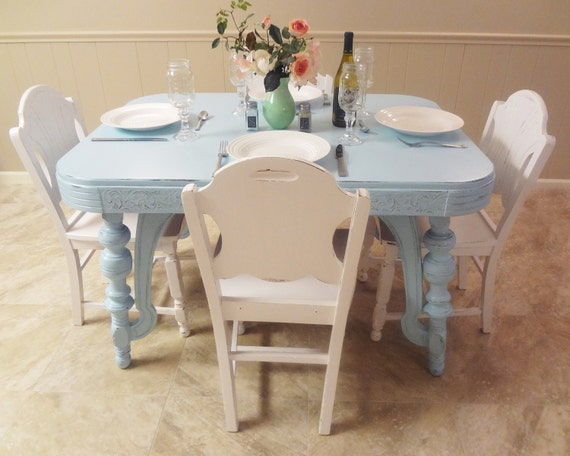 Shabby Cottage Chic Furniture Dining Room By ThePinkToolBox