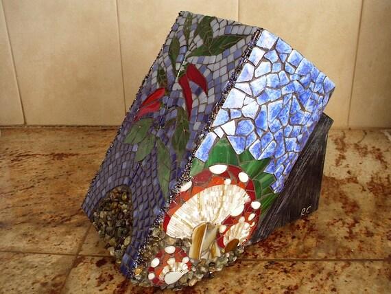 Mosaic Kitchen Knife Block