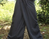 Gray  Extra site fisherman pants