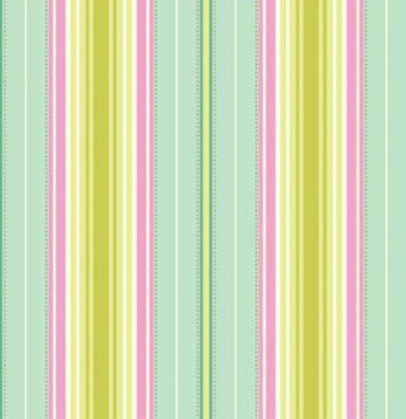 """last one - SHOP CLOSING SALE - Heather Bailey, Fresh Cut 2011, Lounge Stripe - 15"""" x wof"""