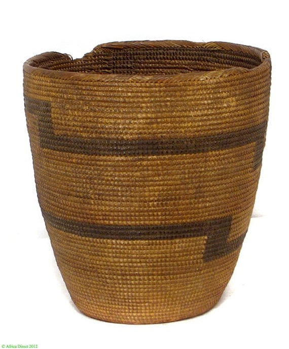 Basket Weaving Supplies Denver Co : Tutsi tight weave basket lid missing rwanda by africadirect