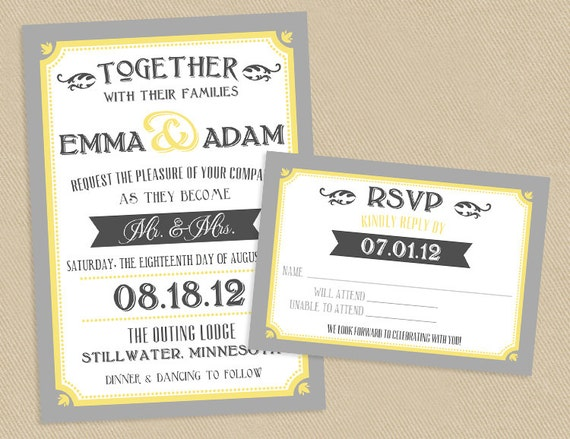 like this item - Wedding Invitations Rsvp