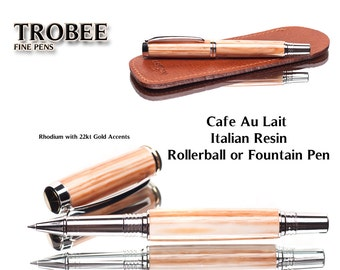 The perfect gift of affordable writing luxury for yourself or others eye-catching finish made on a lathe by hand Italian resin