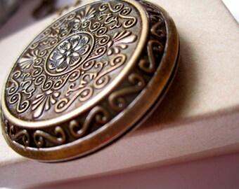Handmade Vintage Locket, Large