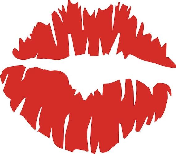 Roller Derby Helmet Decal Kiss Lips Smooch Sugar Lover Lover Mmmm
