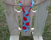 Kid Tie - HAPPY DOTS - (Adjustable Neck Tie) Child Size