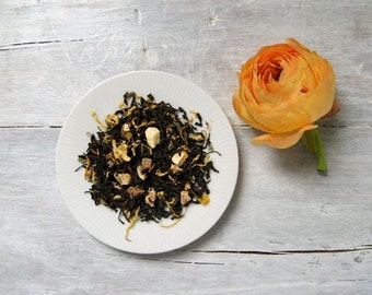 Ginger Peach Black Tea • 6 oz. Kraft Bag • Loose Leaf Blend with Sweet Peach and Spicy Ginger