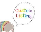 Custom listing for janag2