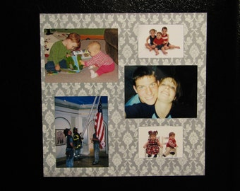Magnetic Photo Picture Frame Collage