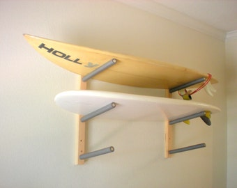 Surfboard Wall Rack Mount Holds 3 Boards