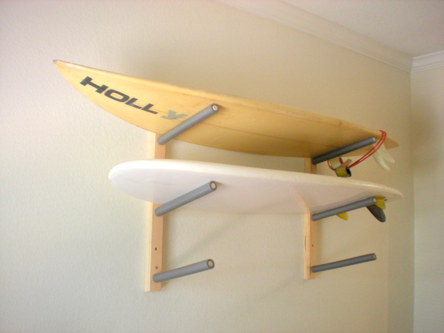 How To Build A Wall Mounted Surfboard Rack