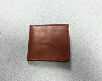 The Tennyson: Hand crafted Leather Billfold