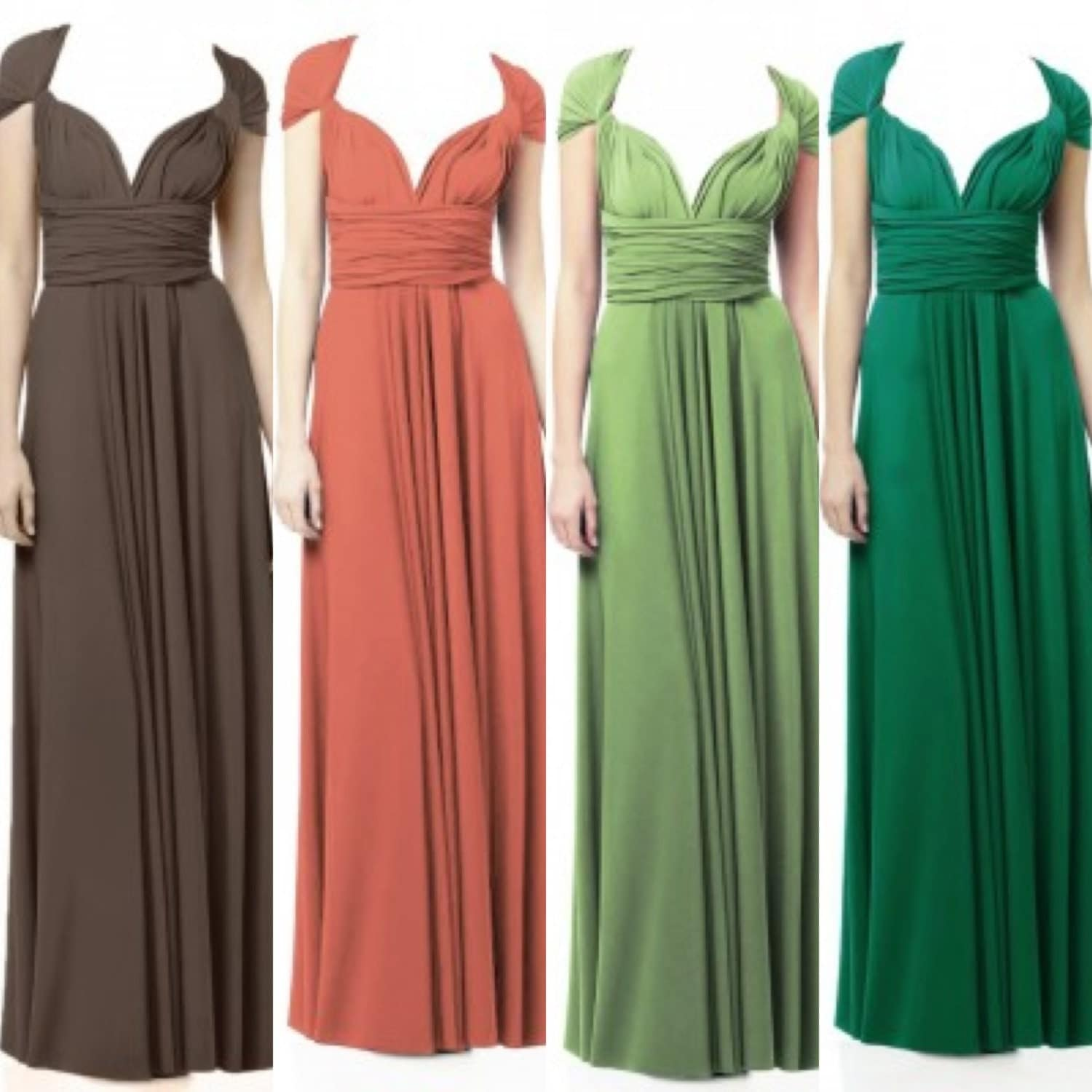 Infinity Wedding Dress Larimeloom: Infinity Dress Bridesmaid Multiway Dress RESERVED LISTING For