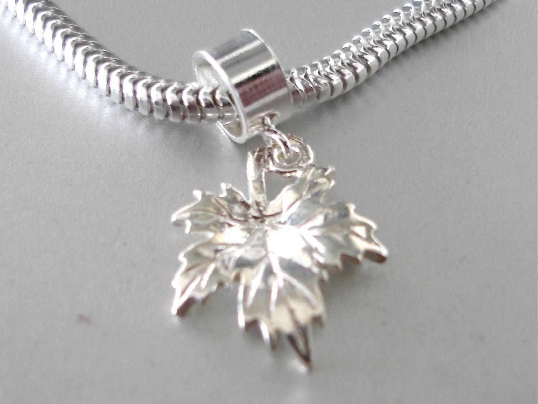 wholesale pandora charms canada maple leaf