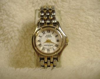 Vintage 1980s Ann Klein II Quartz Watch