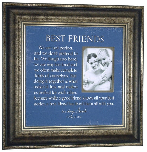 Friendship Picture Frames With Quotes: Unavailable Listing On Etsy