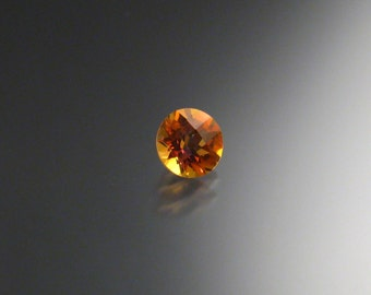Imperial Mystic Fire Topaz checkerboard cut loose stone 6mm round