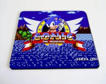 Sonic the hedgehog screen mousepad