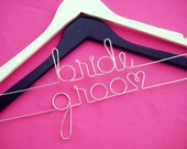 Personalized hangers Wedding Accessories Custom Hanger Mrs Hanger Bridal Hanger Wedding Dress Hanger Last Name