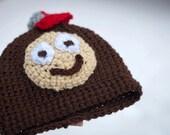 PATTERN - OSU Brutus Baby Hat
