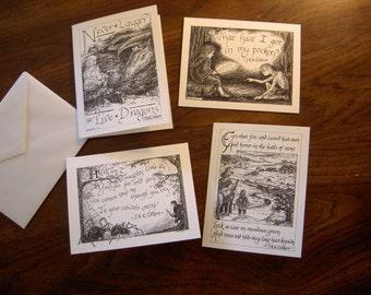 The Hobbit assorted notecards, Set 2