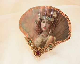 The Goddess Within Me Shell Jewelry Dish