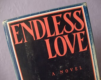 Vintage Endless Love book, Scott Spencer, 1979, First edition book, Birthday gift for her, 1980's movie, famous song, Pittsburgh