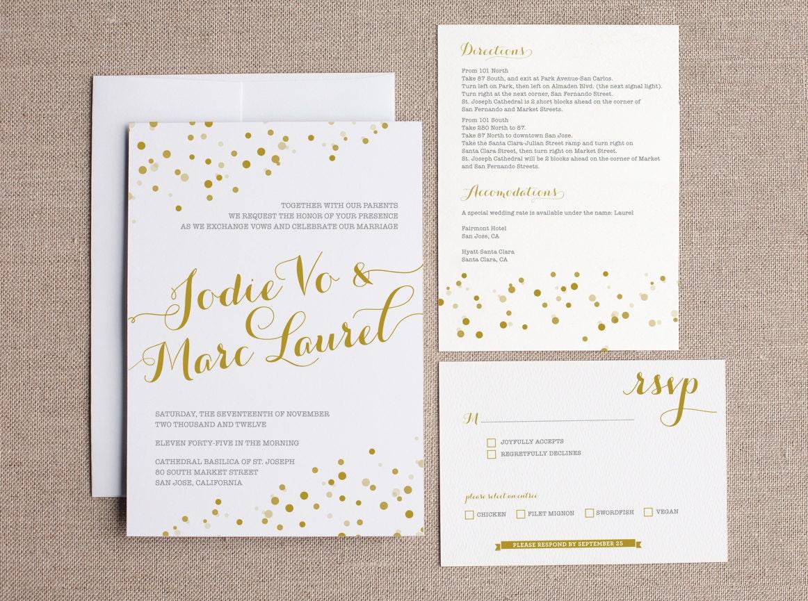 Wonderful joliejolie design | wedding invitation PF89