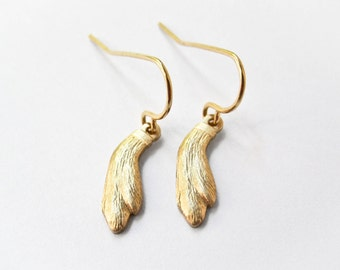 Rabbit's Foot Earrings - Lucky Rabbit's Foot - Boho Chic Jewelry - Drop Earrings - Lucky Charms