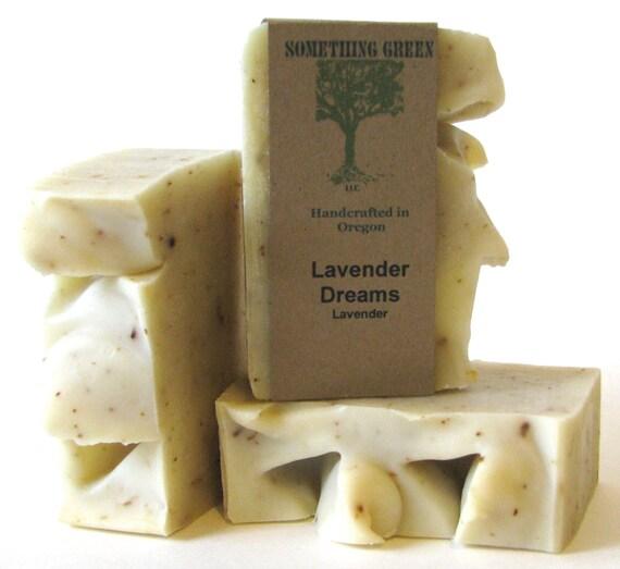 Lavender Dreams Soap -  Natural Soap, Handmade Soap, Vegan Soap