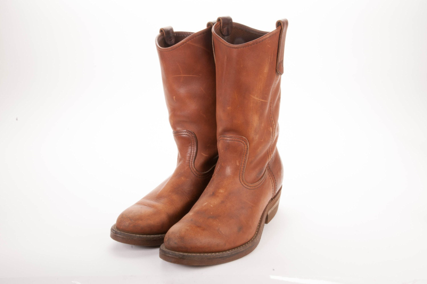 wing pecos boots size 8d