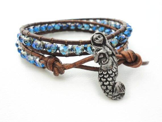 mermaid bracelet bracelet friendship bracelet beaded