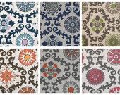 "24"" Ottoman Pouf Floor Pillow Rosa"