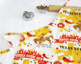 Texas BBQ Chili Cookoff Adult Apron