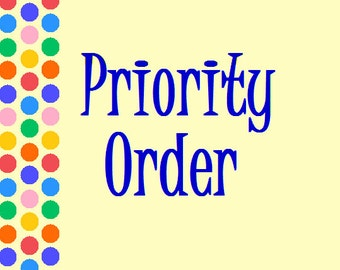 Priority Service for your Wiggles and Giggles Order