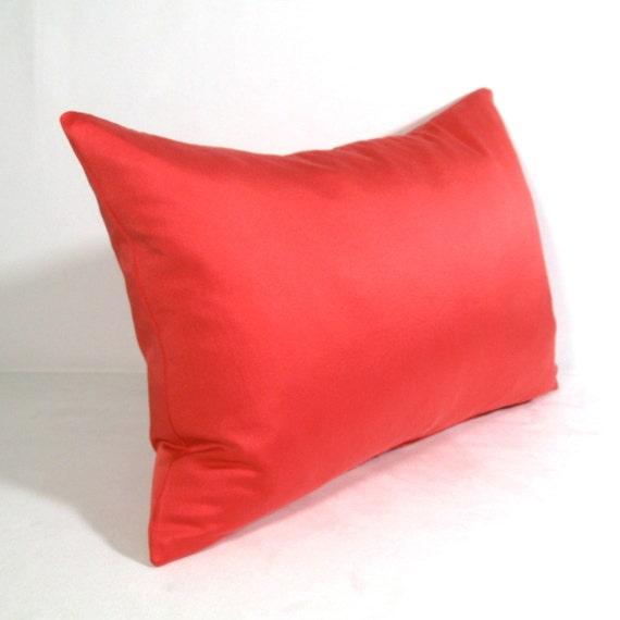 Pink Silk Throw Pillows : SALE - Pink Silk Pillow Cover - Decorative Pillow - Honeysuckle Rose - Strawberry Ice ...