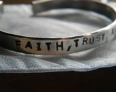 Faith, Trust, and Pixie Dust.   A nice Disney Quote.