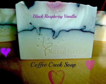 Natural Soap Black Rasberry Vanilla