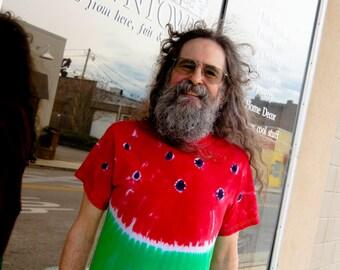 Watermelon Tie Dyed Tee Shirt