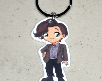 The 11th Doctor - Doctor Who Keychain, Necklace, Earrings, Charm