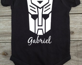 Transformer Autobot Inspired Bodysuitor Shirt