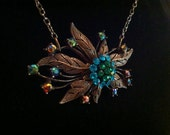 Peacock Dreams Necklace