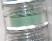 Mineral eye shadow shades of Aqua and Teal shadow