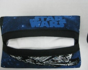Star Wars Tissue Holder  Cozy) Star Wars Ships And Blue Sky.
