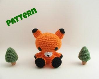 Amigurumi Fox Pattern / Crochet Fox Pattern / Fox Pattern / Crochet Pattern / Kids Toys / Knit Fox Pattern / Toy Pattern / Halloween Pattern