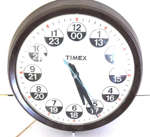 Items Similar To Timex Wall Clock Vintage Clock