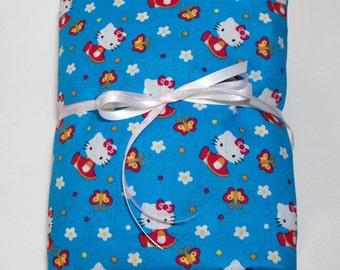 Hello Kitty Bedding Fitted Sheet Toddler or Crib
