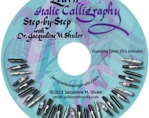 Learn Italic Calligraphy with Dr.Jacqueline Shuler DVD, Great way to learn calligraphy at your own pace.
