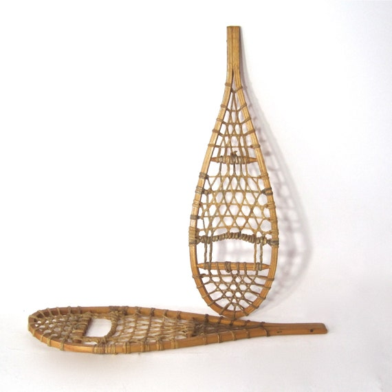 Snowshoes Child Size Or Wall Art